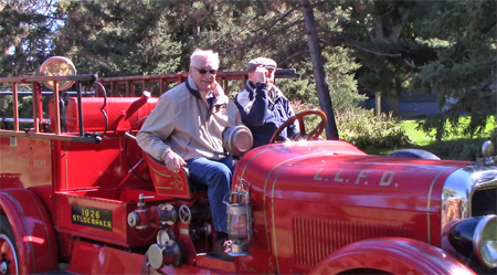 Old Fire Engine with Russ Ferrin